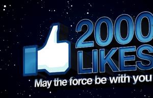2000 likes en Facebook