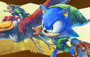 Sonic Lost World – The Legend of Zelda Crossover