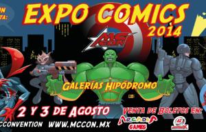 Mc Con: Expo Comics 2014