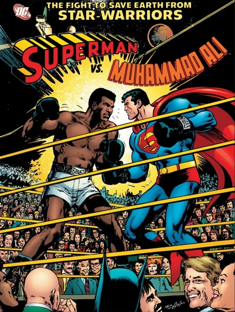 Superman vs. Muhammad Ali Cover