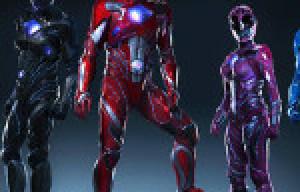 Revelan nuevos trajes de los Power Rangers