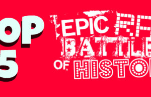 Top 5 Geeky Epic Rap Battles of History