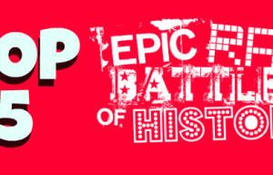Top 5 Geeky Epic Rap Battles of History