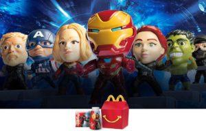 Mcdonald's revela cajita temática de Avengers EndGame